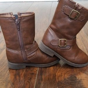 Carters boots toddler size 8